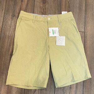 Boys Puma Golf Khaki Shorts Large 11-12